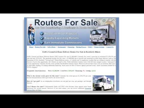 FedEx Routes (Routes For Sale)