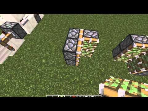 Minecraft: Torch key powered Jeb door+Tutorial