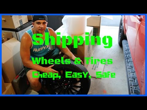 How to Ship Wheels and Tires - Cheapest, Easiest, and Safest Shipping Method