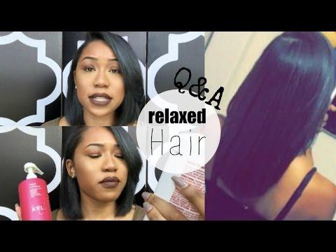 Hair Q&A: Bob Haircut, Regrets? Texlaxed or Relaxed? Staple Hair Products   ESSNTL