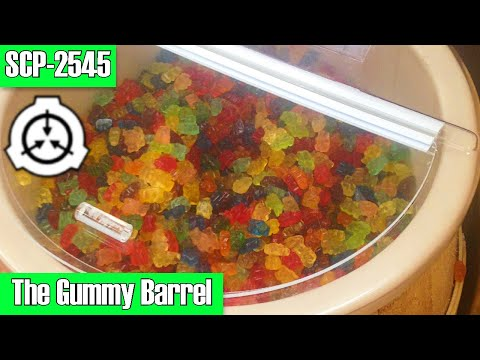 SCP-2545 The Gummy Barrel (gummy bears) | Object Class: Safe | /container / hive mind