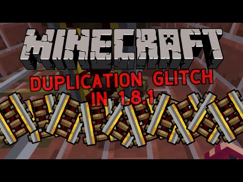 Minecraft 1.8.1 Duplication Redstone Glitch : Powered Rails