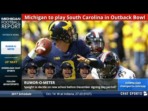 Latest Michigan Football Rumors: Is Wilton Speight Out and Shea Patterson In?