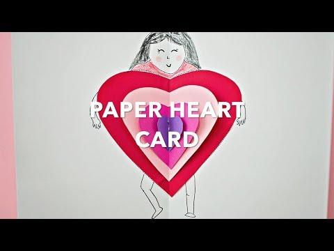 Paper Heart Card