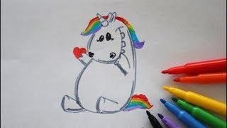 Pummel Einhorn Zeichnen Mit Keks How To Draw A Unicorn With