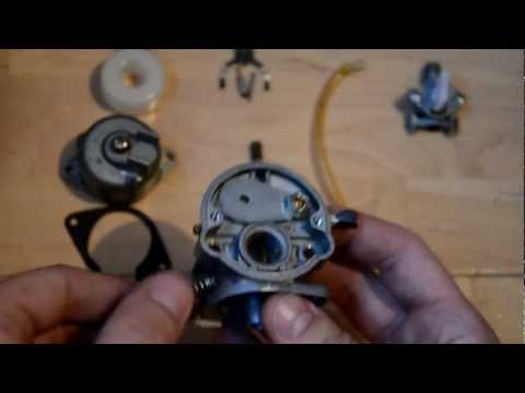 Fix your Mini bike Carb - bogging, cutting out etc