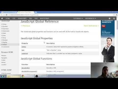 Web developerská škola, časť 28: JavaScript - Funkcie