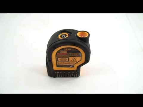 dewalt laser plumb bob