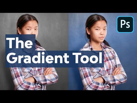 How to Use the Gradient Tool in Adobe Photoshop