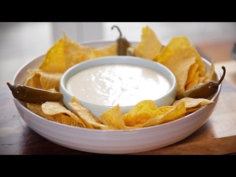 How to Make Nachos with Homemade Cheese Dip