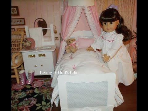 DIY Samantha's Beforever Canopy Bed