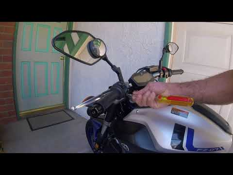 How to modify the turn signal switch on your Yamaha motorcycle.