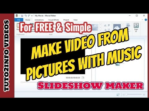 How To Make A Video With Pictures and Music | Slideshow Maker 2017