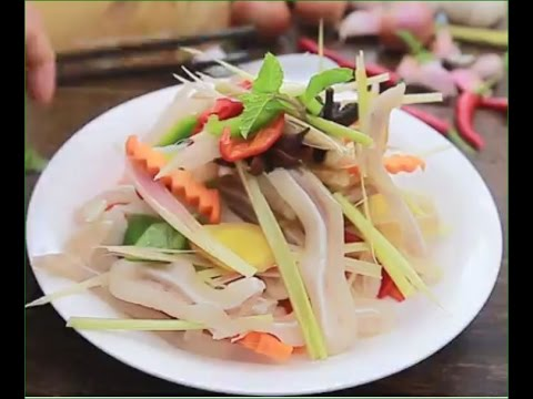 HOW TO MAKE PIG'S EAR mixed pickles