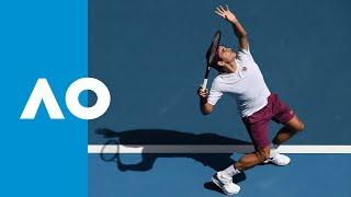 Roger Federer Vs Tennys Sandgren Match Highlights QF Australian Open 2020