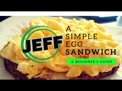 How to make the simplest egg sandwich | Sandwich Sessions