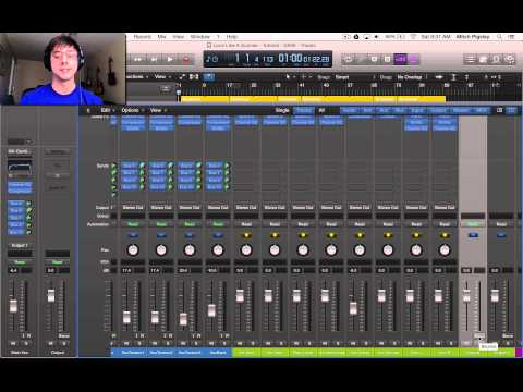 Logic Pro X Tutorial - Convert Audio from Stereo to Mono