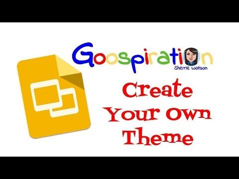 Create a Theme In Slides