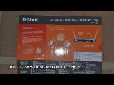 DLink DIR825 Quadband Router PicVlog
