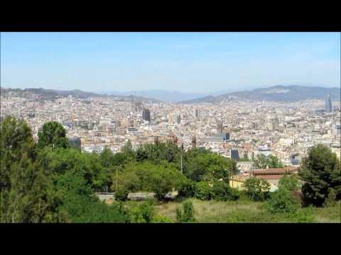 Lloret De Mar, Part 4  Montserrat, Barcelona, Beach, Cemetery & Last Night Entertainment