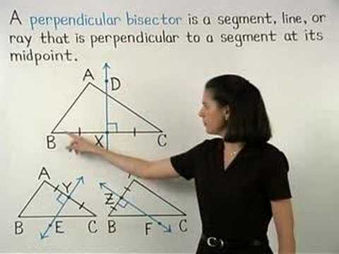 Perpendicular Bisector of a Triangle - MathHelp.com