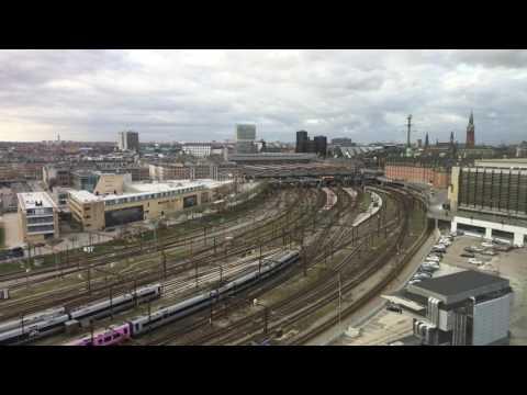 Copenhague central station timelapse