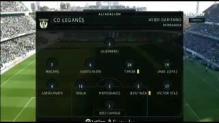 Resumen del partido Real Betis 2-0 Leganes