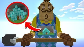 O QUE TEM DENTRO DO HELLO NEIGHBOR ?! - MINECRAFT