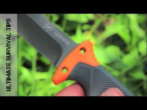 NEW - Gerber Bear Grylls Ultimate Survival Knife - Review - Best Survival Knife Under $50?