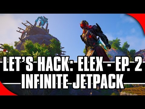 Let's Hack: ELEX, Ep. 2 - Infinite Jetpack (Game Hacking with Cheat Engine)