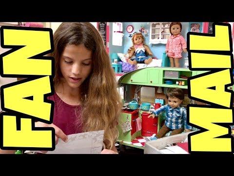 Chloe's American Girl Opening Fan Mail #19