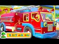 Fire Truck Song Wheels On The Bus More Kids Rhymes By Little Treehouse
