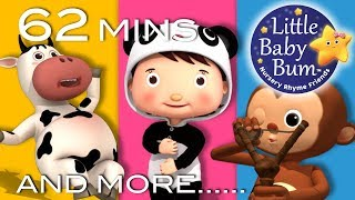 Fun Songs For Children | Plus Lots More Nursery Rhymes | 62 Minutes Compilation from LittleBabyBum!