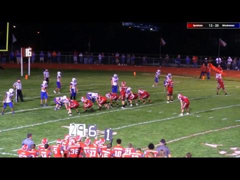 Richmond High School Varsity Football vs. Lexington 10/13/17 Senior Night