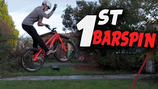 MY FIRST BARSPIN | Street Trials