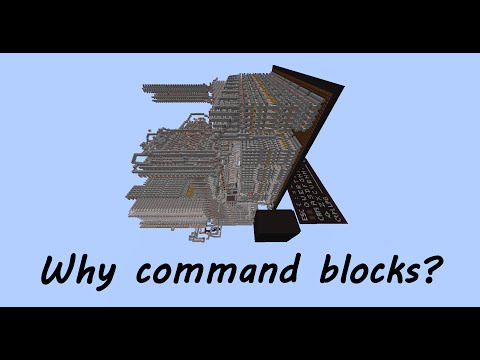 Let's talk command blocks