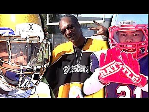 🏈🔥 Snoop Youth Football League  10U   Long Beach Patriots v The Nation Rams   Youth Highlight Mix  -