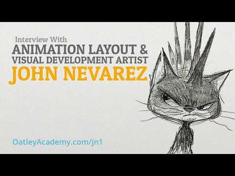 Interview with Animation Layout & Visual Development Artist, John Nevarez (Part 1) :: ArtCast #98