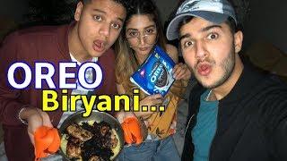 WE MADE OREO BIRYANI. (*with a girl who doesn