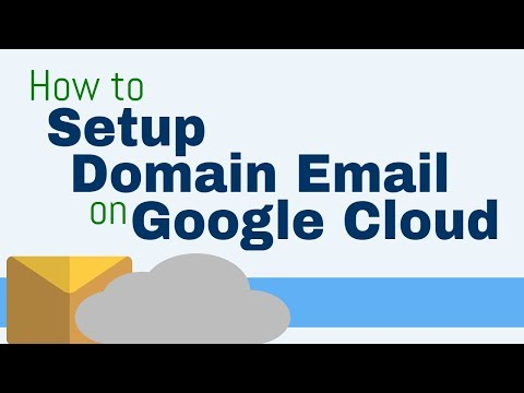 Setting up Email for Websites on Google Cloud