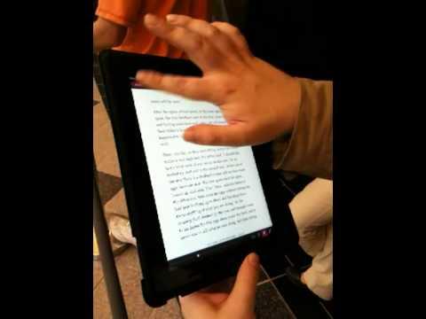 First Look at Kobo on iPad