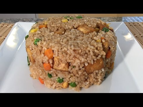 How To Make Vegetable Fried Rice Chinese Food Recipes Vegan Cooking