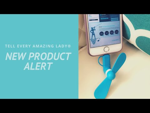 Check Out T.E.A.L.®'s New Shop Item- Teal Fan Phone Accessory