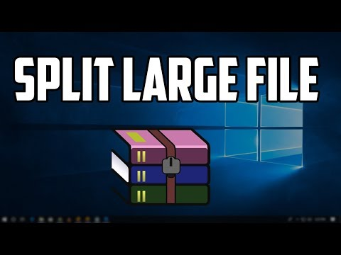 How to Split a Large File Into Small Files