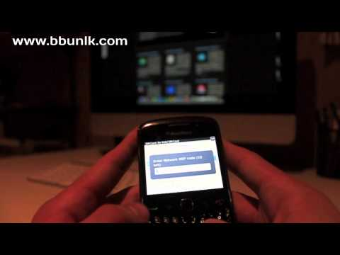 How to Unlock BlackBerry Curve 9300 - INSTANTLY