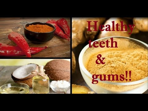 Natural remedies for toothache & for healthy teeth and gums!