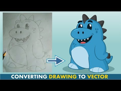 How To Convert Your Sketch into Digital Vector Image