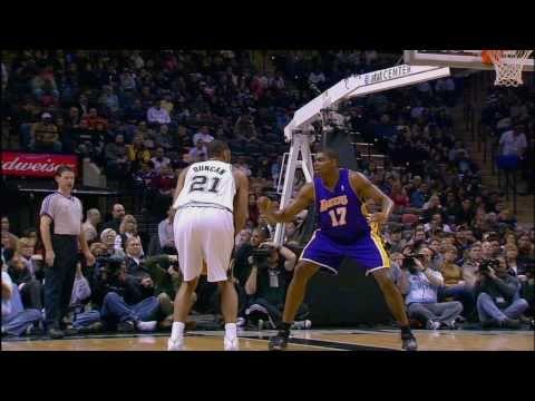 Tim Duncan and his fundamental Bank Shot