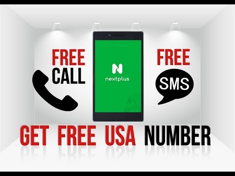 How to get Free Unlimited USA Phone Number 2018 Trick 100% Working | Verify Any Online Account ✔️