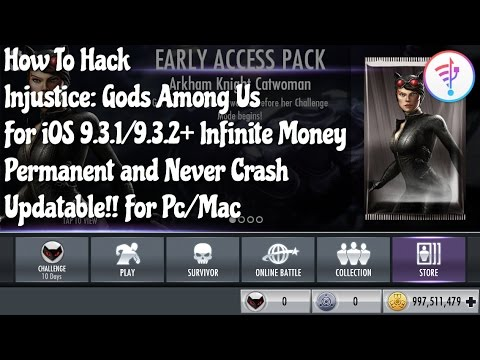 How To Hack Injustice Gods Among Us For iOS 9.3.1/9.3.3 Without Jailbreak 100% Permanent (PC/Mac)